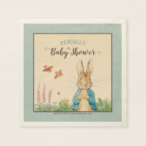 Peter Rabbit | Boy Baby Shower Napkin