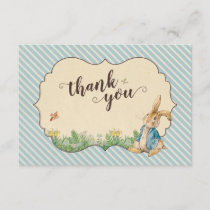 Peter Rabbit | First Birthday Thank You