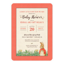 Peter Rabbit - Flopsy | Girl Baby Shower Invitation