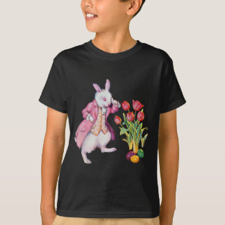 Peter Rabbit Inspects the Easter Eggs T-Shirt