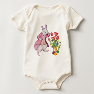 Peter Rabbit Inspects the Easter Eggs Bodysuits