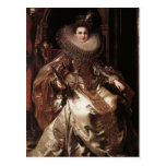 Peter Rubens- Portrait of Maria Serra Pallavicino Post Card