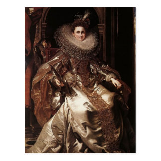 Peter Rubens- Portrait of Maria Serra Pallavicino Postcard