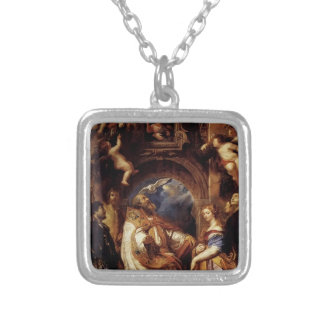 Peter Rubens-Saint Gregory with Saint Domitilla Necklace