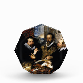 Peter Rubens- Selfportrait with brother Philipp Acrylic Award