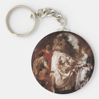 Peter Rubens- St. Gregory the Great with Saints Keychains