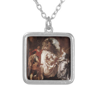 Peter Rubens- St. Gregory the Great with Saints Jewelry