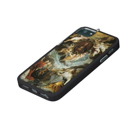 Peter Rubens-The Madonna della Vallicella Adored iPhone 5/5S Covers