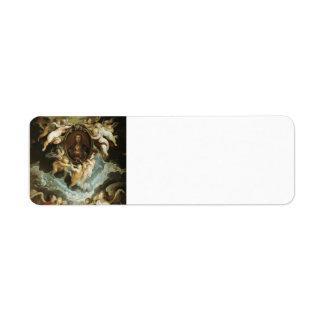 Peter Rubens-The Madonna della Vallicella Adored Return Address Label