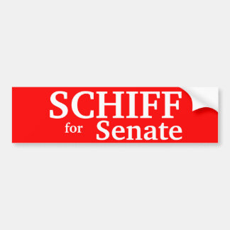 PETER SCHIFF , Connecticut Senate, for Car Bumper Sticker