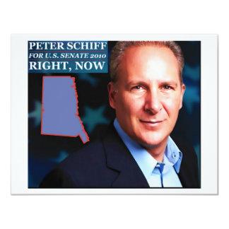 Peter Schiff for Senate Card