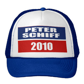 PETER SCHIFF FOR SENATE TRUCKER HAT