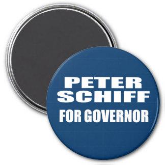 PETER SCHIFF FOR SENATE 3 INCH ROUND MAGNET