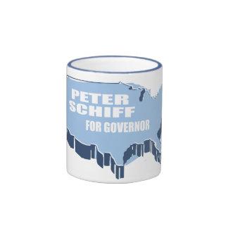 PETER SCHIFF FOR SENATE RINGER COFFEE MUG