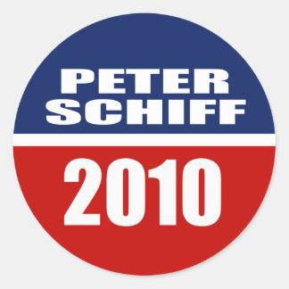 PETER SCHIFF PARA EL SENADO ETIQUETAS