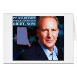 Peter Schiff para el senado Tarjetón