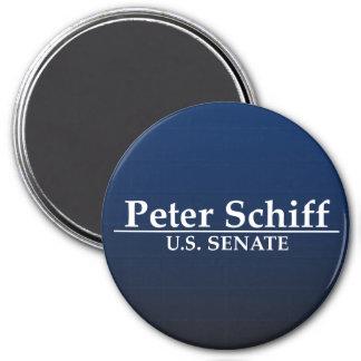 Peter Schiff U.S. Senate 3 Inch Round Magnet
