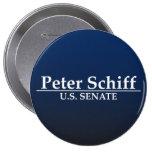 Peter Schiff U.S. Senate Pinback Buttons