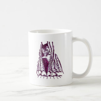 Peter the Cat Goes Offstage Coffee Mug