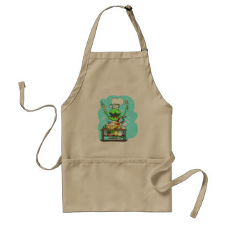 Peter & the Closet Monster, baking Adult Apron