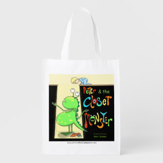 Peter & the Closet Monster, cover Grocery Bag