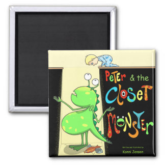 Peter & the Closet Monster, cover Magnet