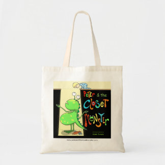 Peter & the Closet Monster, cover Tote Bag