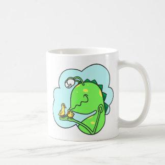 Peter & the Closet Monster, duck kisses Coffee Mug