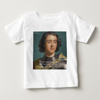 """Peter The Great """"Conquer Myself"""" Quote Gifts & Tee"""