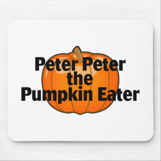 Peter The Pumpkin Eater Mouse Pad
