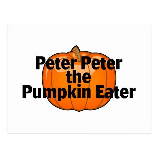 Peter The Pumpkin Eater Postcard