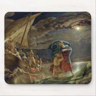 Peter Walks on Water, 1806 Mouse Pad