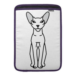 Peterbald Cat Cartoon Sleeves For MacBook Air