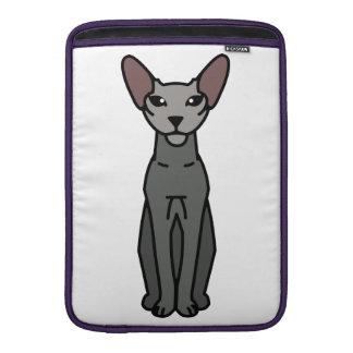 Peterbald Cat Cartoon MacBook Sleeves