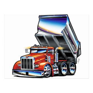 Peterbilt 357 Dump Truck Postcard