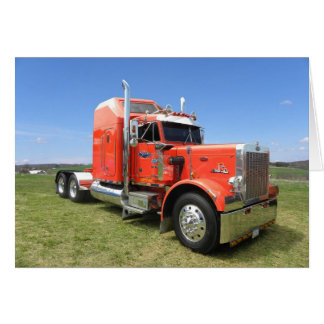 Peterbilt 359 Aero Note Card
