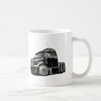 Peterbilt Black Truck Coffee Mug