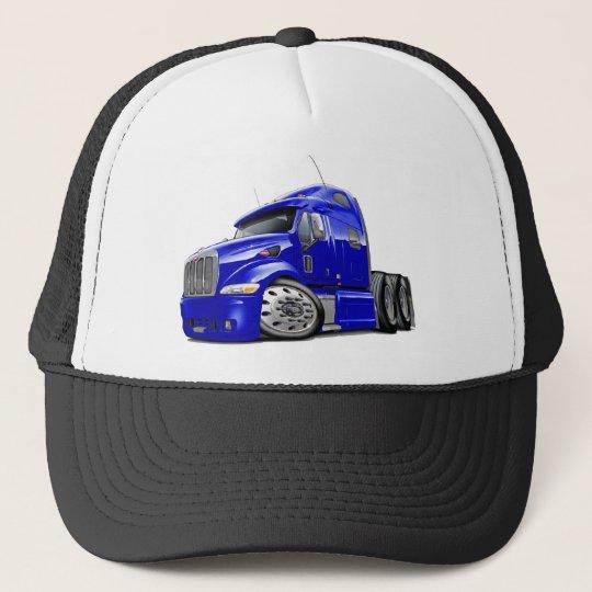 Peterbilt Blue Truck Trucker Hat  1227b152193