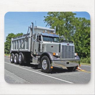 Peterbilt Dump Truck Mousepad