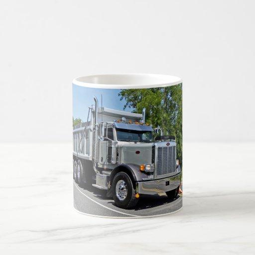 Peterbilt Dump Truck Mug