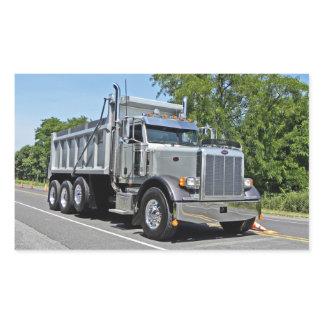 Peterbilt Dump Truck Stickers