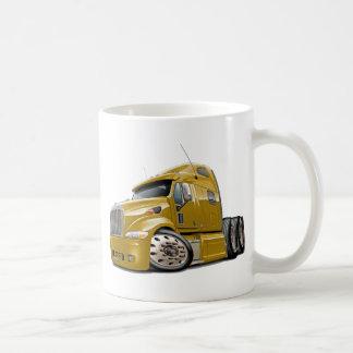 Peterbilt Gold Truck Coffee Mug