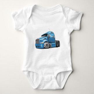 Peterbilt Lt Blue Truck Baby Bodysuit