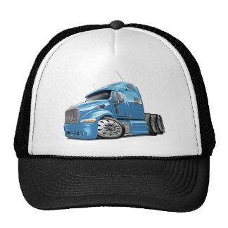Peterbilt Lt Blue Truck Trucker Hat