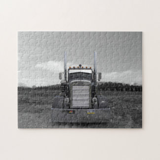 Peterbilt Needle Nose b/w Puzzle