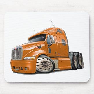 Peterbilt Orange Truck Mouse Pad