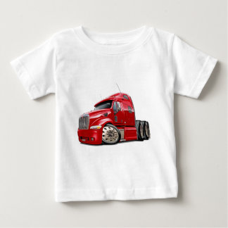 Peterbilt Red Truck Baby T-Shirt