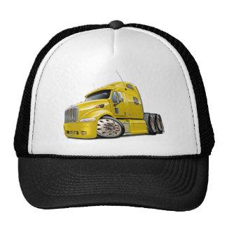 Peterbilt Yellow Truck Trucker Hat