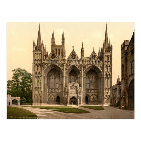 Peterborough Cathedral II, Cambridgeshire, England Postcard
