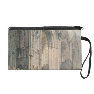 Peterborough Cathedral (w/c on paper) Wristlet Purse